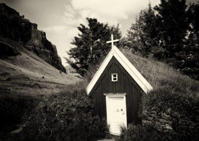 Islande Chapelle montagne