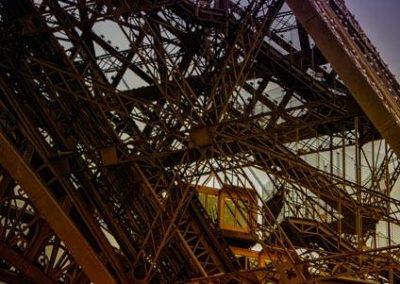Tour Eiffel bi-colors