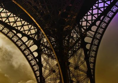 Tour Eiffel culotte bi-colors